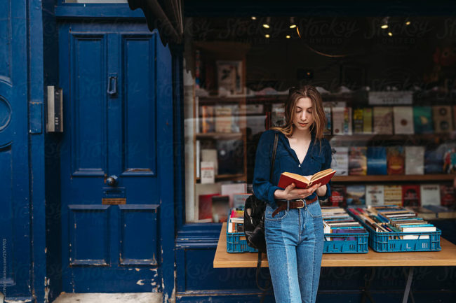 Londoner young woman in Camden